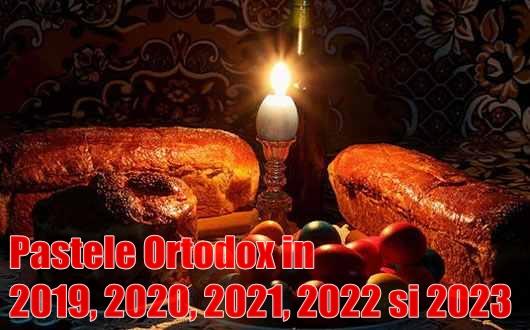 Calendar Crestin Ortodox 2022.Paștele Ortodox In 2019 2020 2021 2022 Si 2023 Calendar 2020 Romanesc Calendar Ortodox Si Catolic Pdf