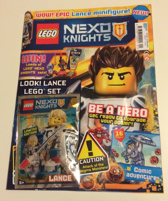 LEGO® NEXO KNIGHTS™ magazine, issue one front cover