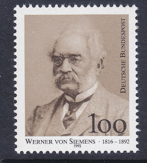 Germany 1992 Werner von Siemens  Electrical Engineer