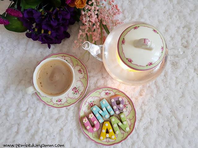 vintage çay seti