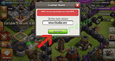 [Tips Tutorial] Cara Mengubah Nama atau User Name COC (Clash Of Clan) Berkali - kali