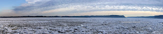 Susquehanna River, Zimmerman Center, panorama