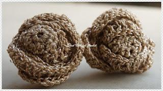 free crochet pattern ear ring , free crochet pendant pattern