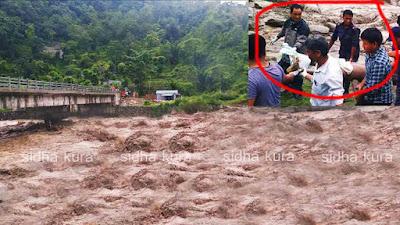 लमजुङको दोर्दी खोला बाढीमा ज्यान गुमाउनेको संख्या ४  पुग्याे