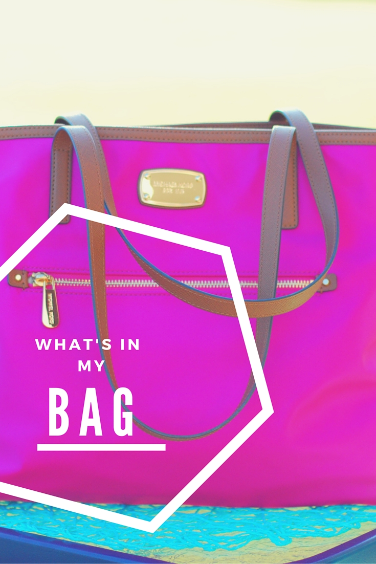 What's in my Michael Kors Tote?