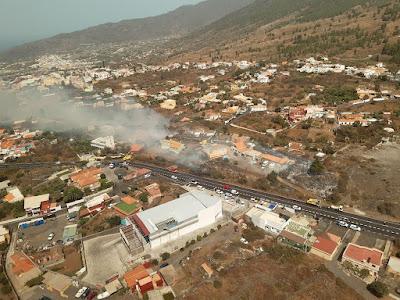 Conato de incendio en El Paso, La Palma. 17 agosto 2021