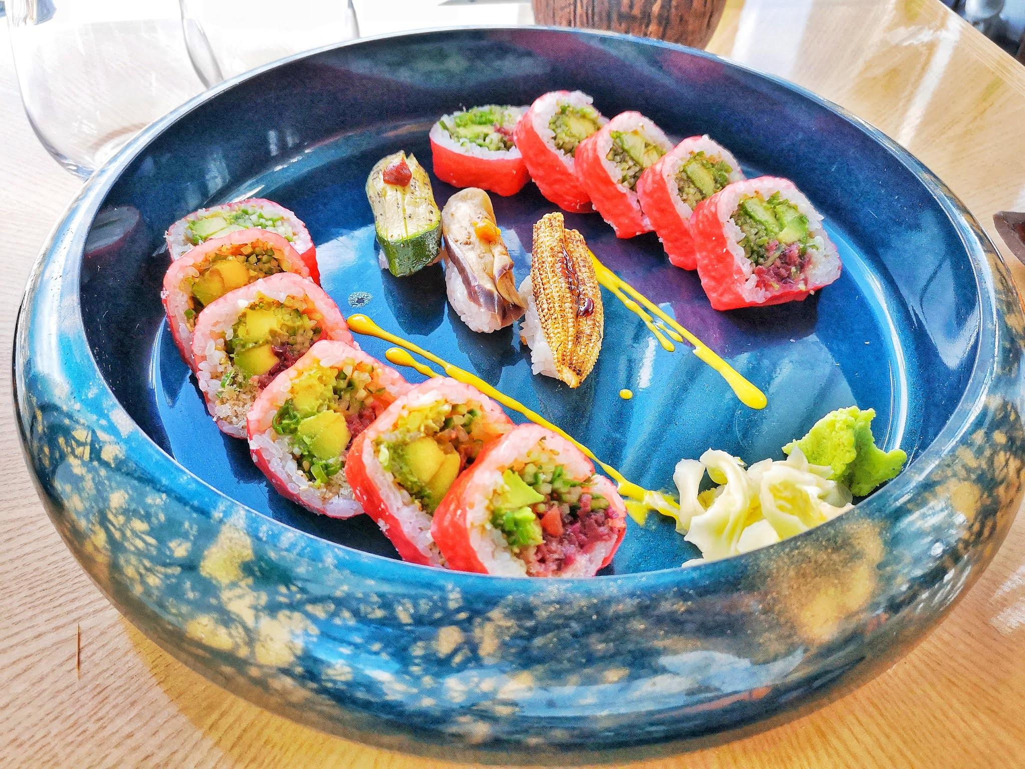 Sushi samba food