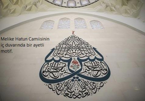 Ankara Opera'daki Melike Hatun Camisinde