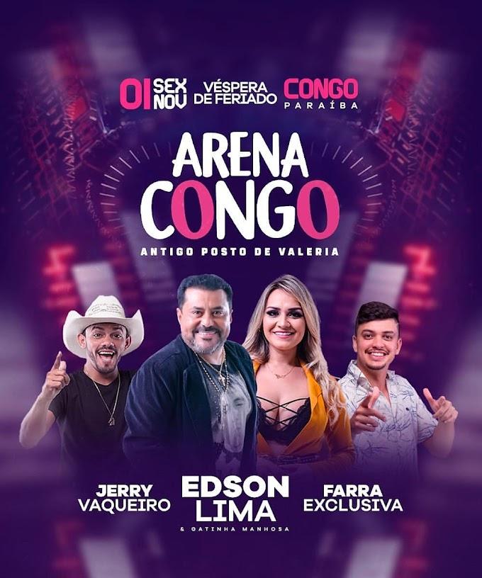 Arena Congo - PB 01 de Novembro 2019
