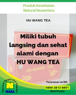 HU WANG TEA Pelangsing Penurun Berat Badan 20 Sachet