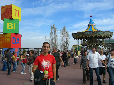 Tibidabo funfair is perfect for children
