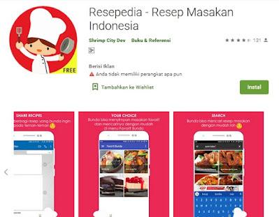 resepedia aplikasi untuk menu buka puasa dan sahur