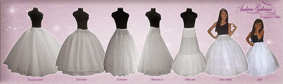 ba36146ec Andrea Galeano... Casa de modas: Enaguas para vestidos de fiesta