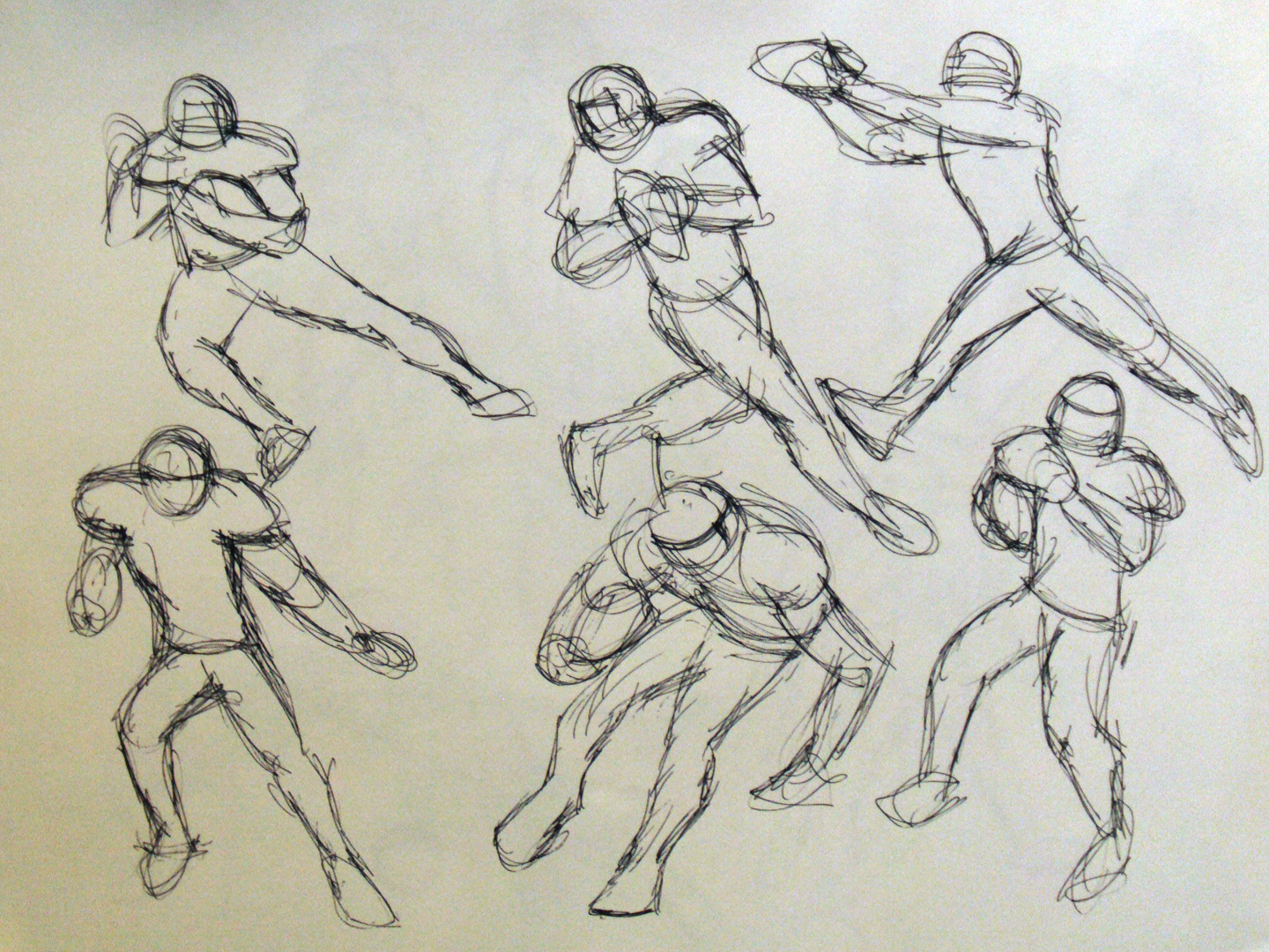 Sketches and Motion: 1 Minute Gesture Drawings
