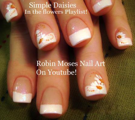 robin moses nail art elegant diy white wedding nails hand