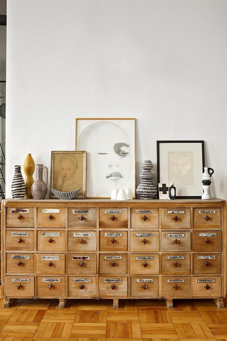 wooden file drawers