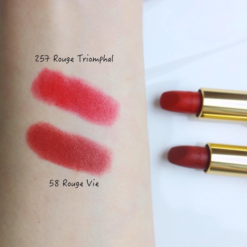 Le Lion de Chanel Lipstick swatches
