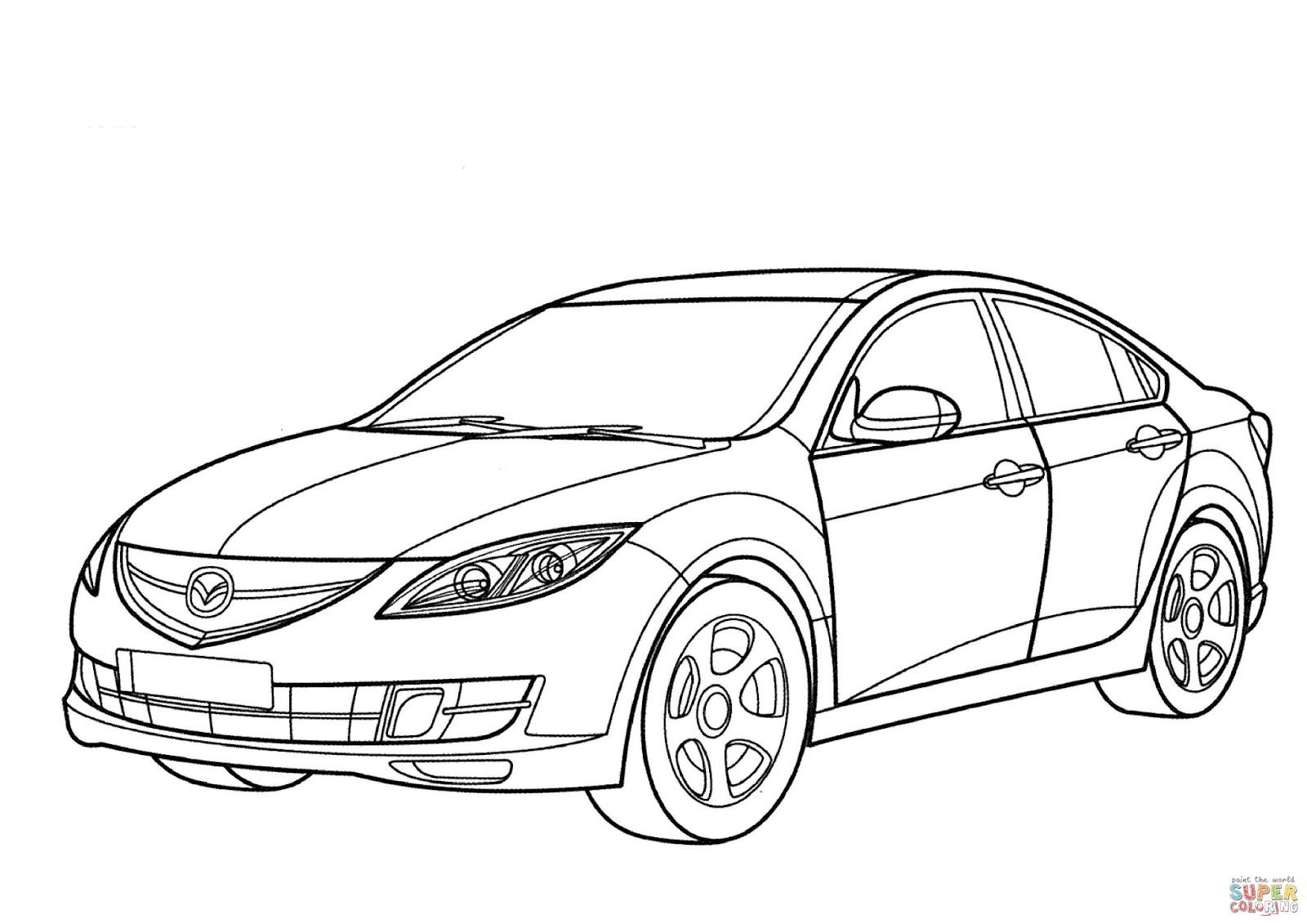Kumpulan Gambar Sketsa Mobil Lawas