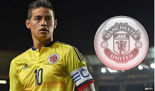 Manchester United Serius Transfer James Rodriguez