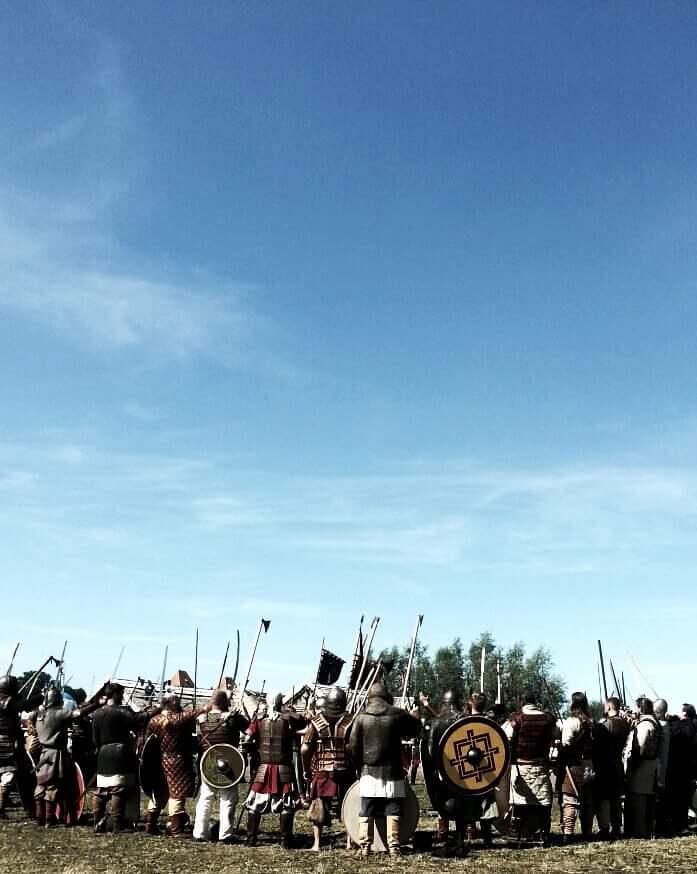 KaylaKandzorra Viking Festival. Wolin, Poland