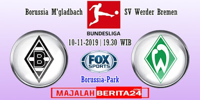Prediksi Borussia M'gladbach vs Werder Bremen — 10 November 2019