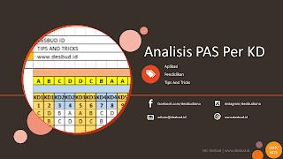 Aplikasi Analisis Hasil Penilaian Akhir Semester (PAS) per KD
