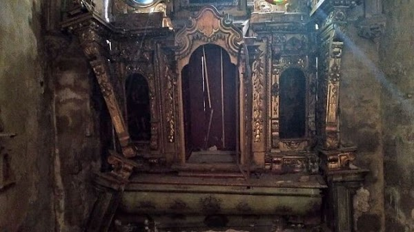 El «lamentable» estado del retablo de la Iglesia de San Marcos de Jerez