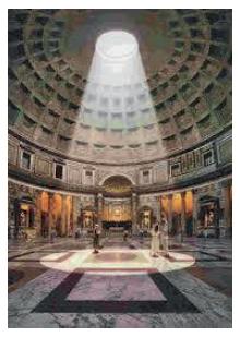 O Panteão em Roma