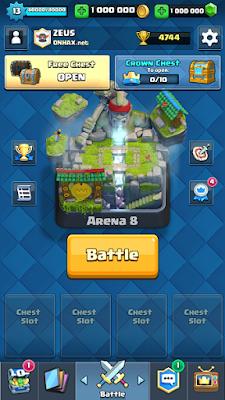 Clash Royale MOD Apk Terbaru