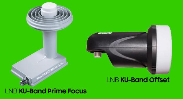 perbedaan LNB Ku band Prime Focus dengan Ku Band Offset