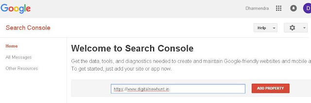 blog ko google search console par submit karne ka tarika