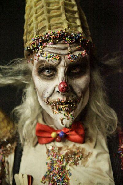 maquiagem palhaco halloween