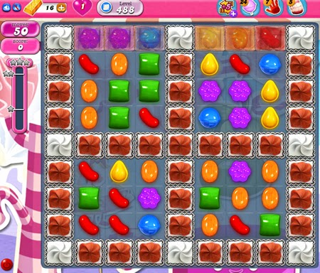 Candy Crush Saga 488