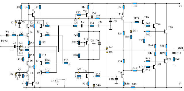 finished buffer amplifier