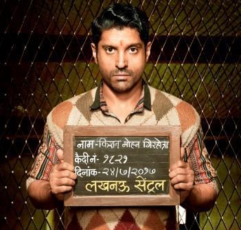 Intrigued Farhan Akhtar as aspiring singer lands in 'Lucknow Central' jail
