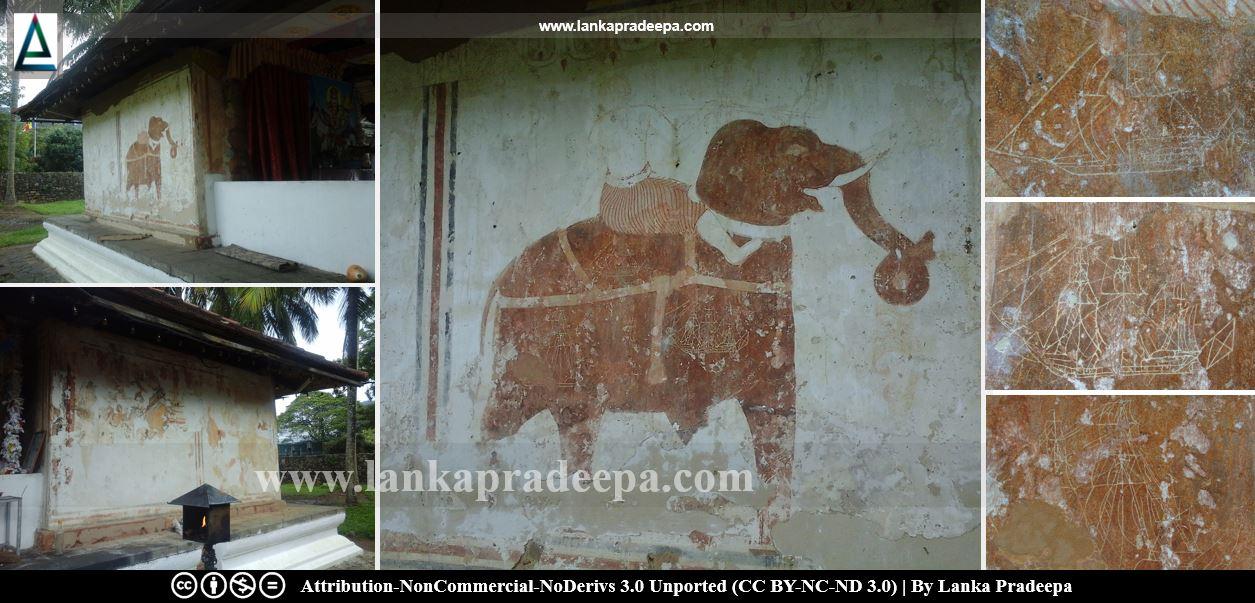 Gambara Devalaya paintings
