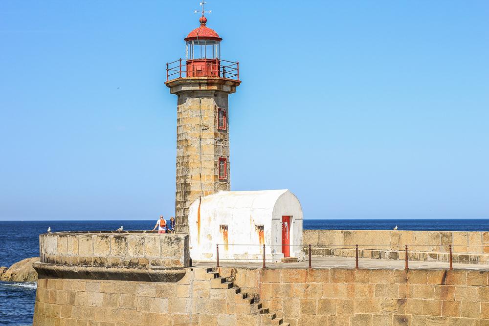 Foz do Douro jedziemy nad ocean