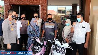 Spesial Curanmor di Masjid  di ringkus Polres Jepara