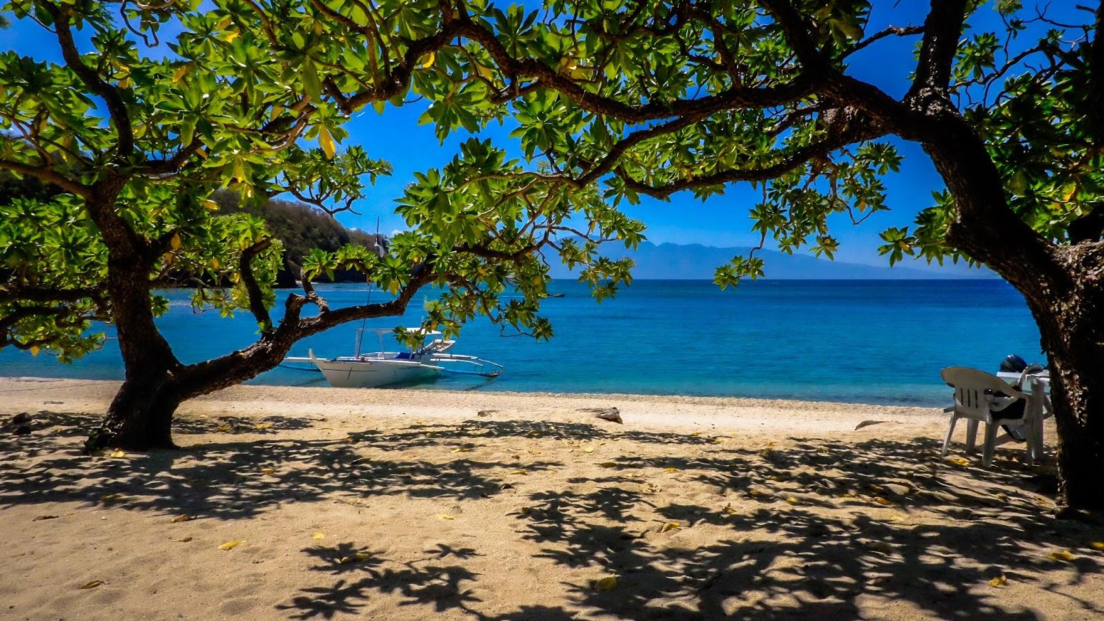 Sepoc Island's pristine water