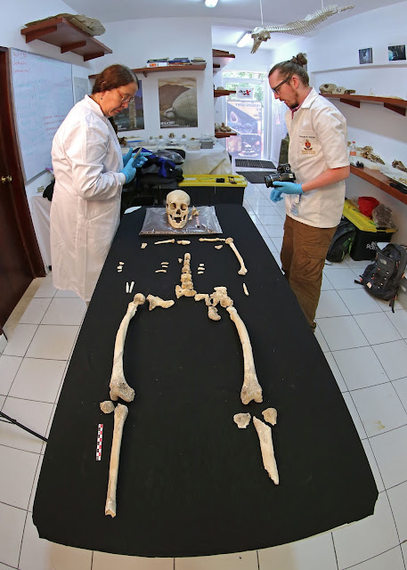 9,900-year-old female skeleton discovered in Mexico distinct from other early American settlers