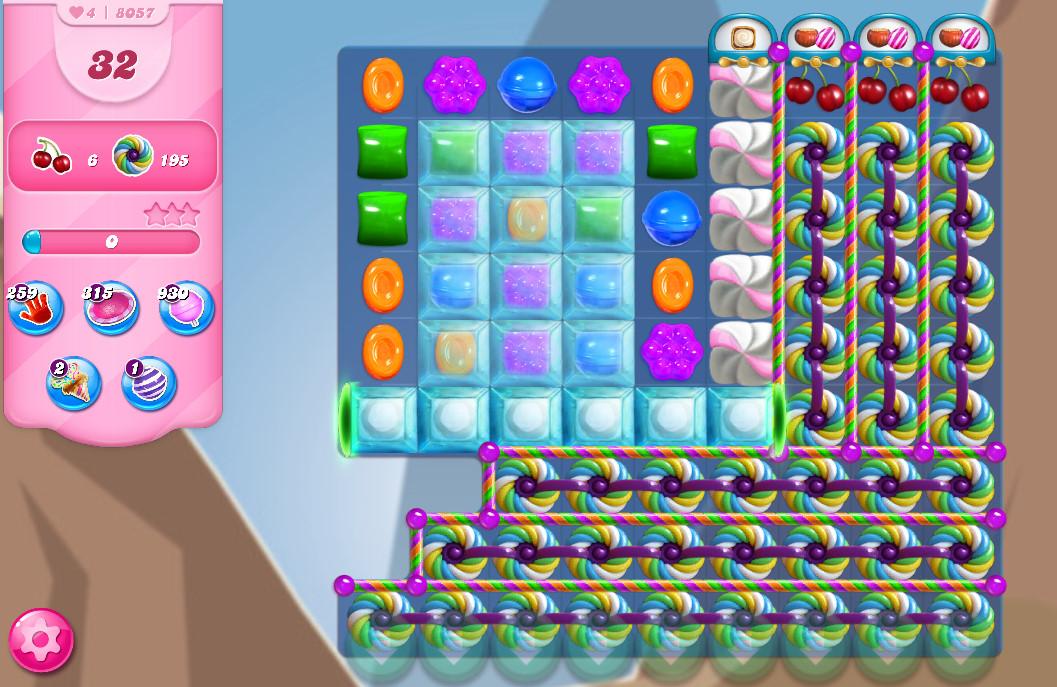 Candy Crush Saga level 8057