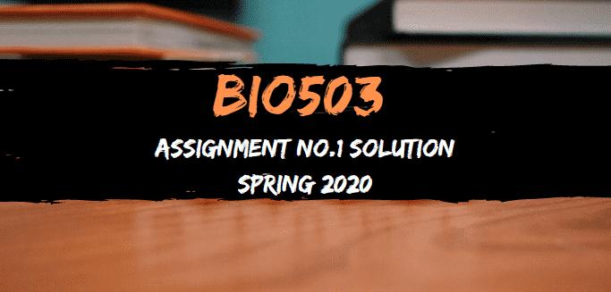 bio503