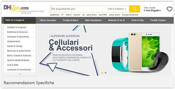 Acquistare dalla Cina Migliori Siti di Shopping per gli Italiani