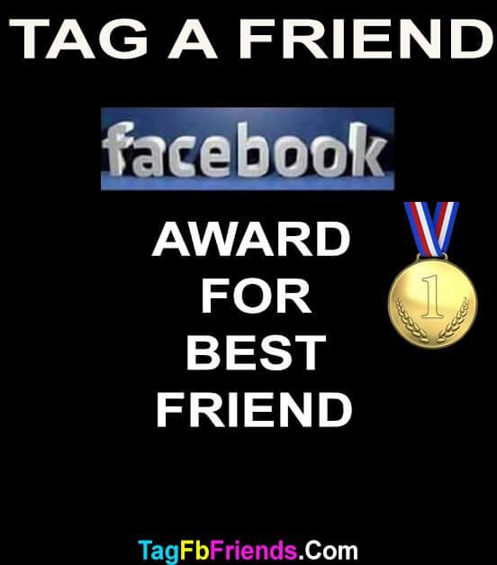 Facebook award for best friend