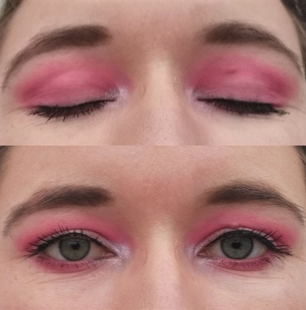 pinkes Augen Make-up Orangecosmetics