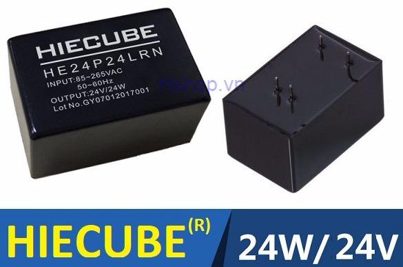 Nguồn xung AC-DC HIECUBE 24VDC 24W
