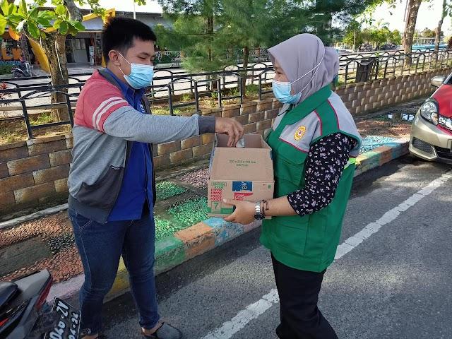 Gabungan OSIS SMA di Kotabaru Galang Dana Korban Banjir Katingan