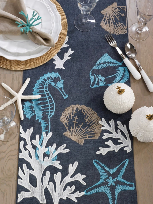 Sea Life Table Runner