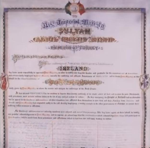 Bantuan Kerajaan Turki Utsmani Kepada Umat Nasrani Irlandia