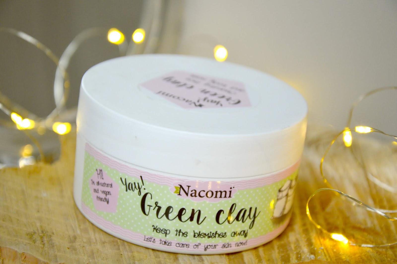 zielona glinka, naturalne kosmetyki